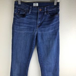 J. Crew Lookout High Rise Skinny Jeans Size 27